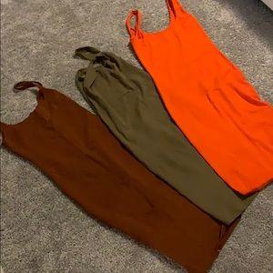 3 dresses